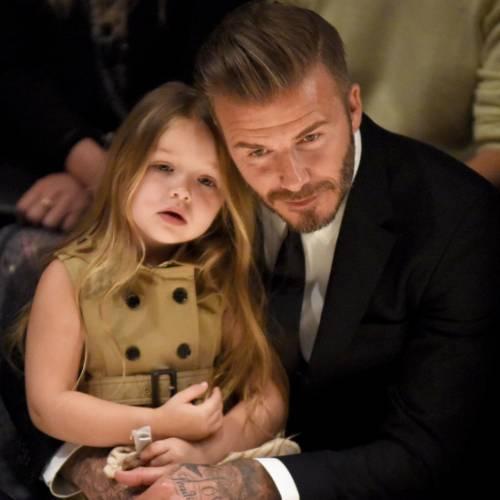 La figlia dei Beckham annoiata dalla vita di super star