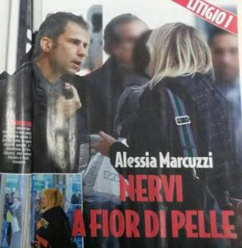 Alta tensione tra Alessia Marcuzzi e il marito Paolo Calabresi Marconi 8