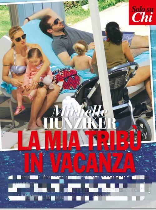 Michelle Hunziker, vacanza in famiglia 2