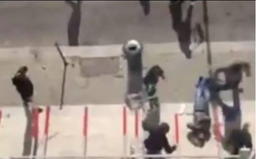 Ultrà violenti per le via di Palermo 2