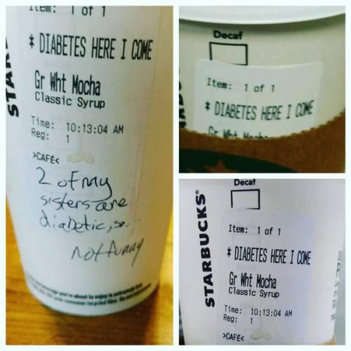 """Polemica contro Starbucks: """"Offende i malati con alcune scritte"""""""
