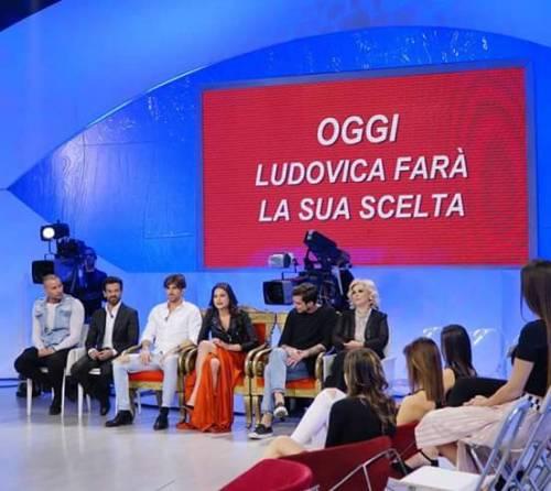Ludovica Valli e Fabio Ferrara a Uomini e Donne 3