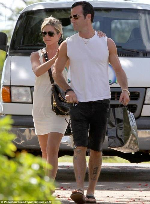 Jennifer Aniston e Justin Theroux: foto 13