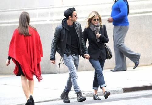 Jennifer Aniston e Justin Theroux: foto 10