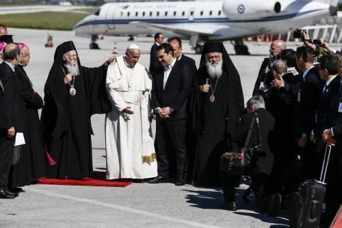 Il Papa a Lesbo 3