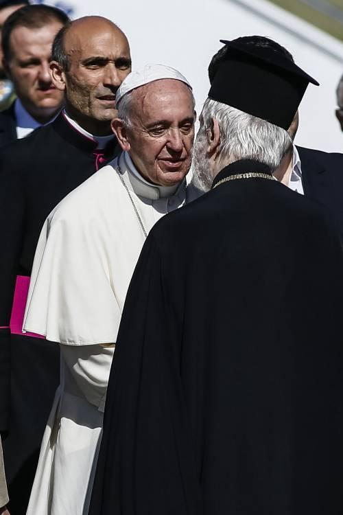 Il Papa a Lesbo 6