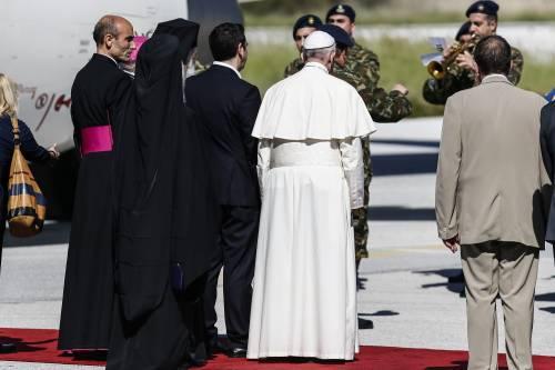 Il Papa a Lesbo 7
