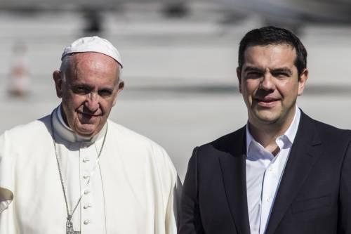 Il Papa a Lesbo 8