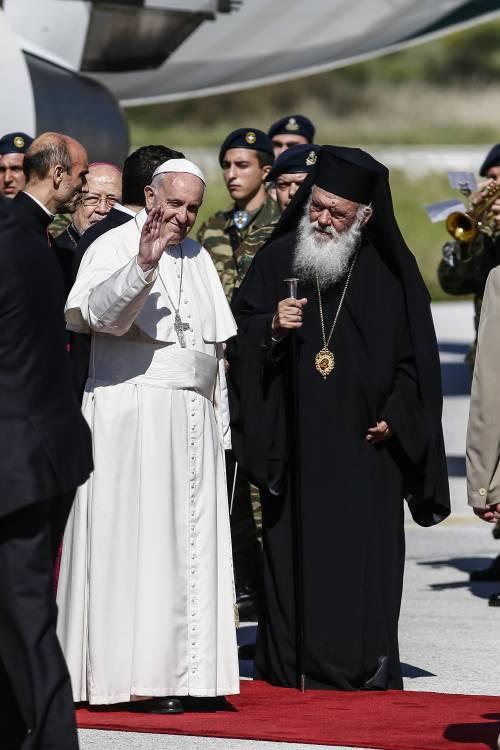 Il Papa a Lesbo 11