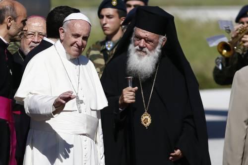 Il Papa a Lesbo 10
