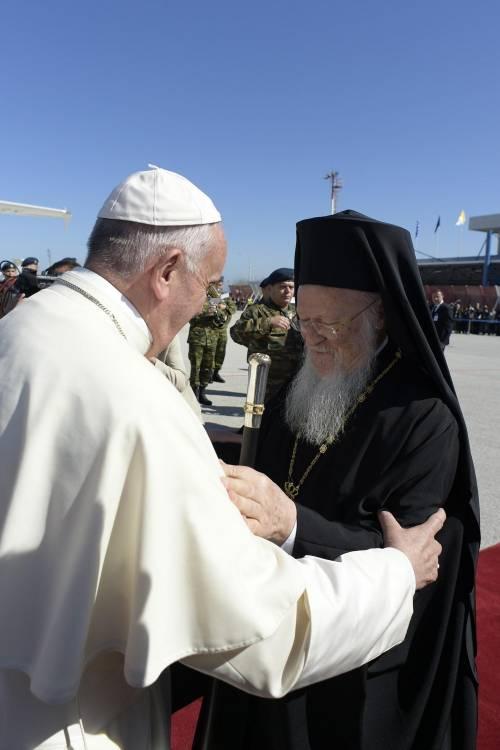Il Papa a Lesbo 13