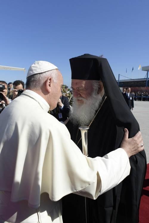 Il Papa a Lesbo 16