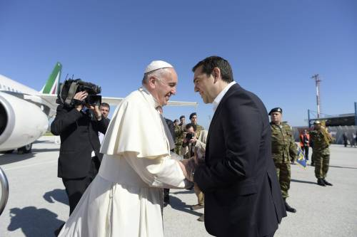 Il Papa a Lesbo 14