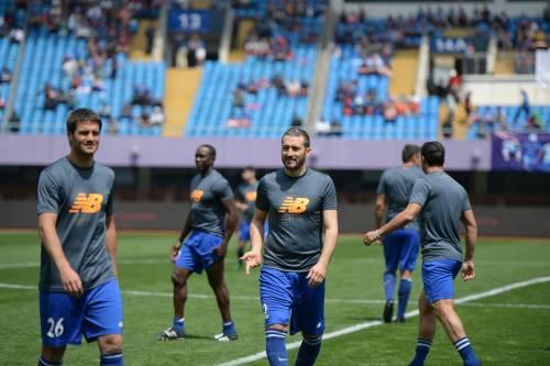 """Il """"Legend team"""" italiano porta il calcio in Cina  2"""