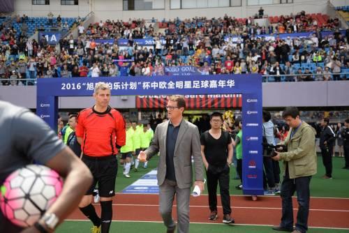 """Il """"Legend team"""" italiano porta il calcio in Cina  7"""