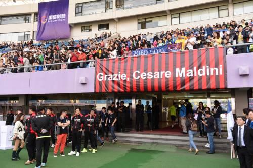 """Il """"Legend team"""" italiano porta il calcio in Cina  8"""
