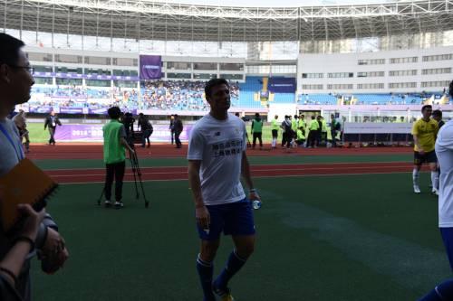 """Il """"Legend team"""" italiano porta il calcio in Cina  9"""