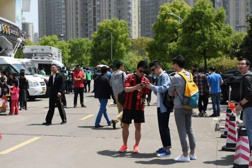 """Il """"Legend team"""" italiano porta il calcio in Cina  11"""