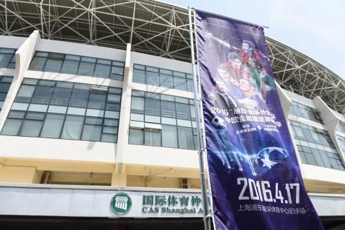 """Il """"Legend team"""" italiano porta il calcio in Cina  12"""