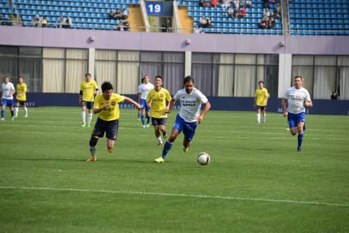 """Il """"Legend team"""" italiano porta il calcio in Cina  13"""