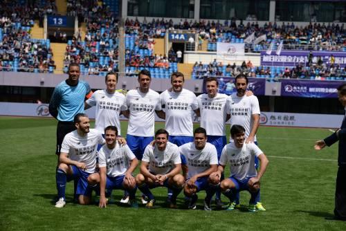 """Il """"Legend team"""" italiano porta il calcio in Cina  15"""