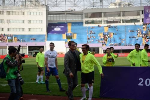 """Il """"Legend team"""" italiano porta il calcio in Cina  16"""