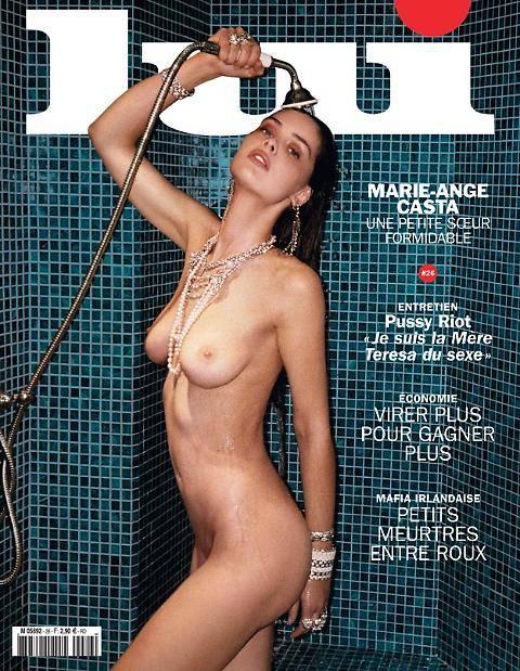 Marie Ange nuda in doccia. Ecco la sorella di Leatitia Casta 5