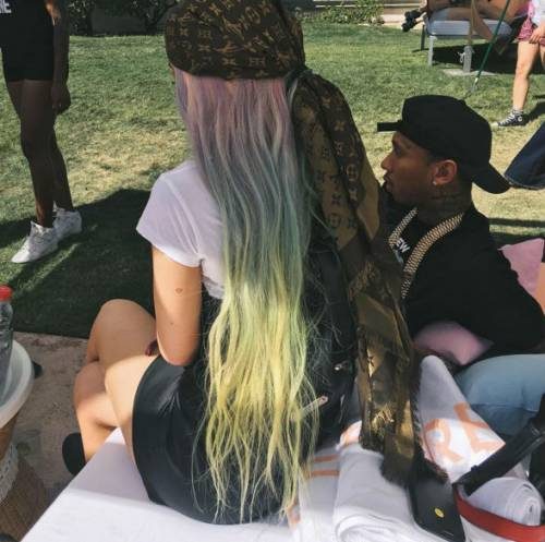 Kylie Jenner al Coachella 2