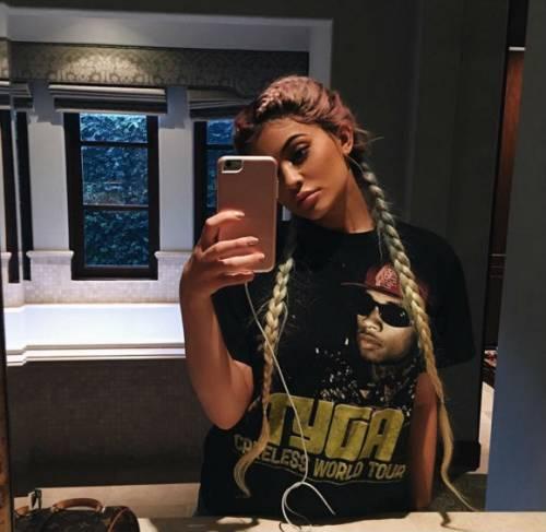 Kylie Jenner al Coachella 5