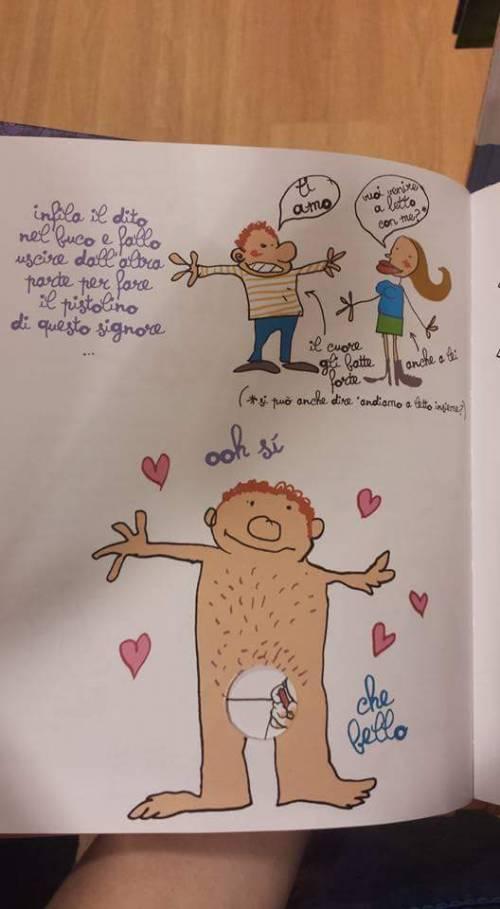"""Il libro choc per bimbi: """"Metti il dito nel buco della donna"""" 2"""