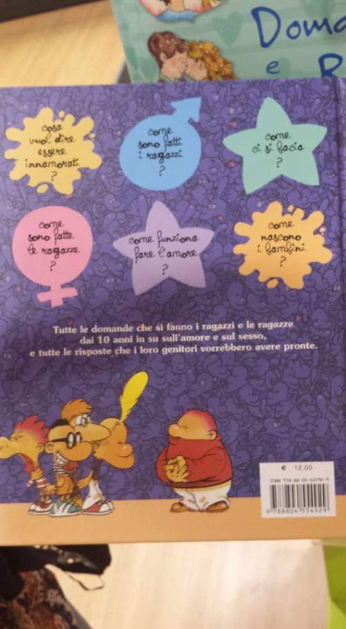 """Il libro choc per bimbi: """"Metti il dito nel buco della donna"""" 10"""
