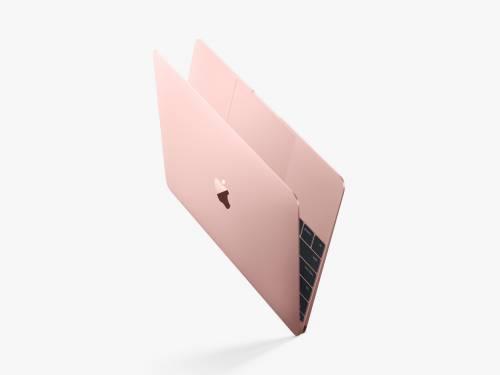 """E ora il nuovo MacBook della Apple è disponibile anche in """"oro rosa"""""""