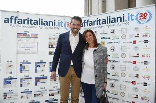 Il party per i 20 anni di Affaritaliani 3