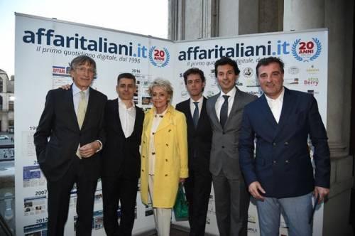 Il party per i 20 anni di Affaritaliani 6