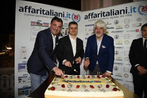 Il party per i 20 anni di Affaritaliani 5