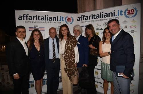 Il party per i 20 anni di Affaritaliani 8