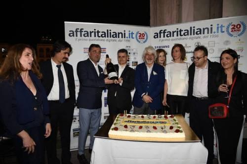 Il party per i 20 anni di Affaritaliani 10