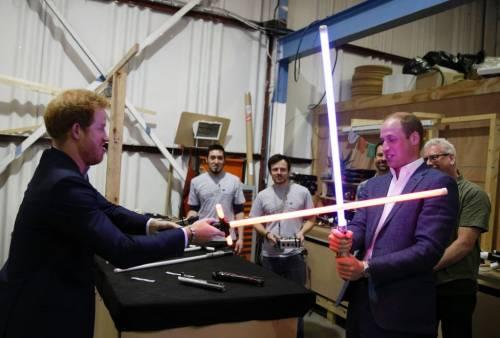 I Principi Inglesi provano la 'forza' Jedi 2