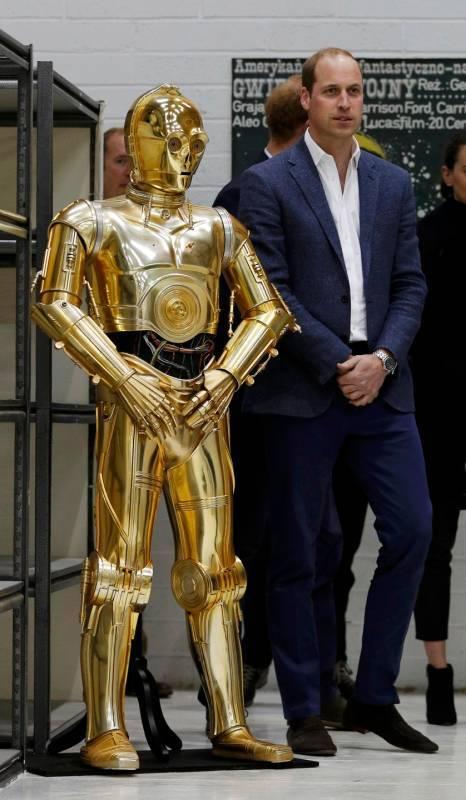 I Principi Inglesi provano la 'forza' Jedi 4