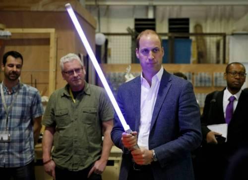 I Principi Inglesi provano la 'forza' Jedi 6