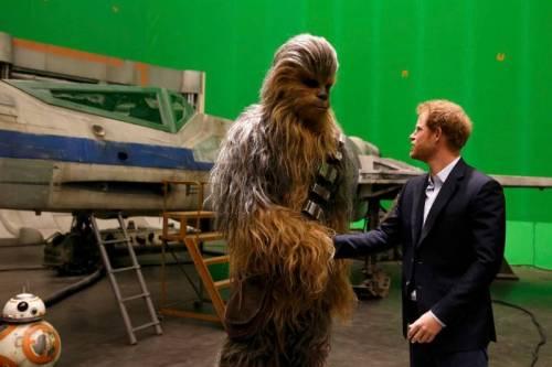 I Principi Inglesi provano la 'forza' Jedi 7