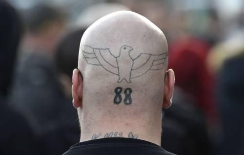 Germania, la manifestazione di Thuegida contro l'islam 2