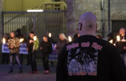 Germania, la manifestazione di Thuegida contro l'islam 4