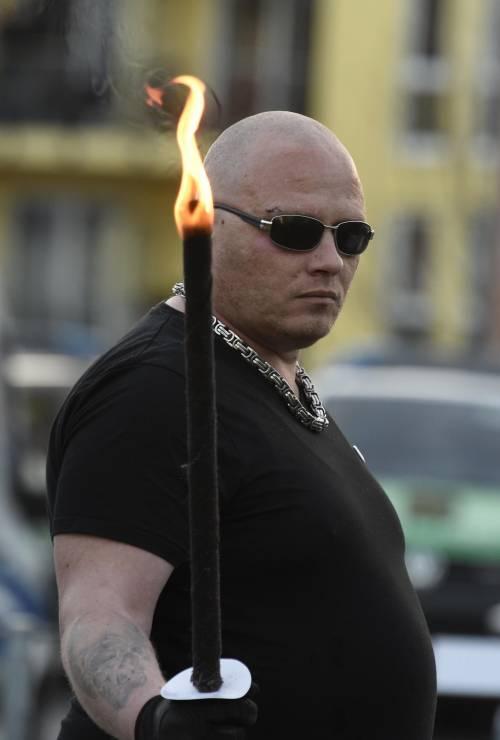 Germania, la manifestazione di Thuegida contro l'islam 7