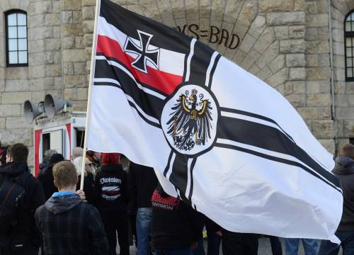 Germania, la manifestazione di Thuegida contro l'islam 6