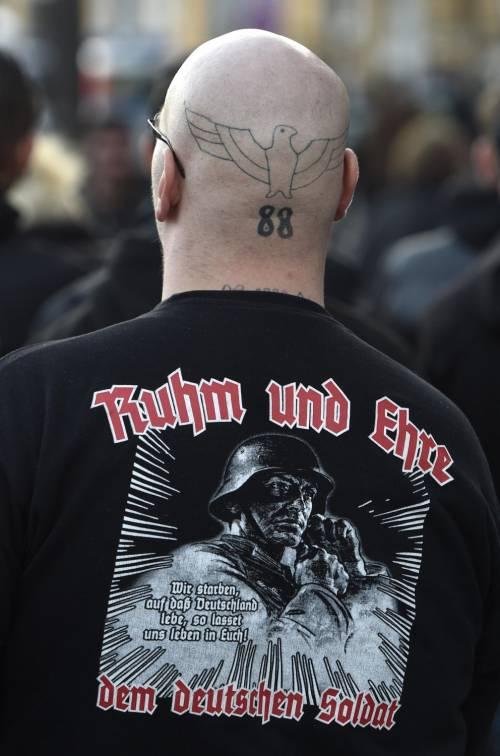 Germania, la manifestazione di Thuegida contro l'islam 5