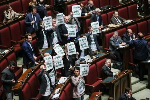 La protesta della Lega per la legittima difesa 4