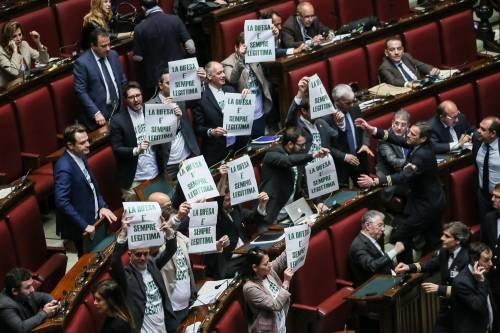 La protesta della Lega per la legittima difesa 5