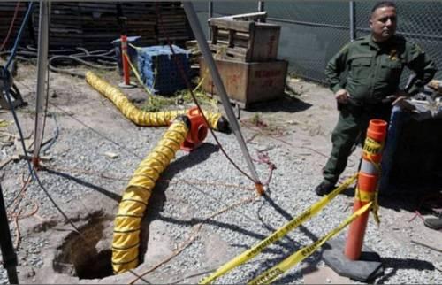 Messico, scoperto il tunnel della droga più grande del mondo 3