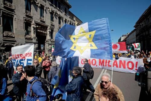 """25 Aprile, a Milano contestata la Brigata ebraica: """"Fascisti"""""""